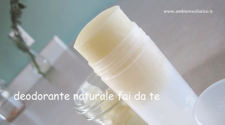 Deodorante Naturale fatto in Casa
